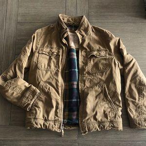 Mens American Eagle winter coat Jacket utility S